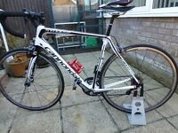 56cm Cannondale Synapse Carbon 105 6 Road Bike 2015 / With Di2 Upgrade / Like New