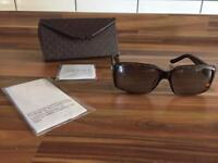 Gucci Sunglasses **Genuine~Brown~Original Case Etc**