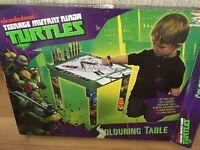 Nickelodeon Teenage Mutant Ninja Turtles Drawing/Colouring table