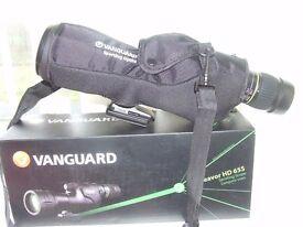 Vanguard Endeavor HD 65S birdwatching/spotting scope