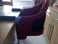 ISAFE Booster seat fits to table