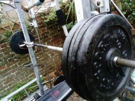Weights big selection 20 kg 25 kg plates