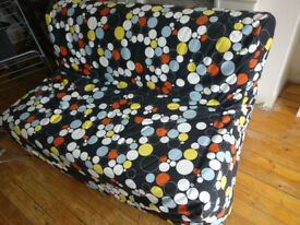Groovy Sofa Bed up for grabs. Removable cover and inside cover for easy washing - £30