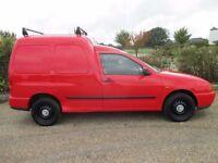 Volkswagen Caddy 2003 - 1.9 SDI Diesel - Genuine 80,000 miles - New 12 Months MOT
