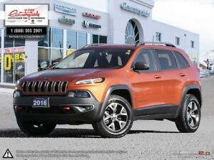 2016 Jeep Cherokee Trailhawk 4X4 | LOCAL TRADE | TOUCH SCREEN |