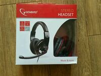 Stereo headset. New with box