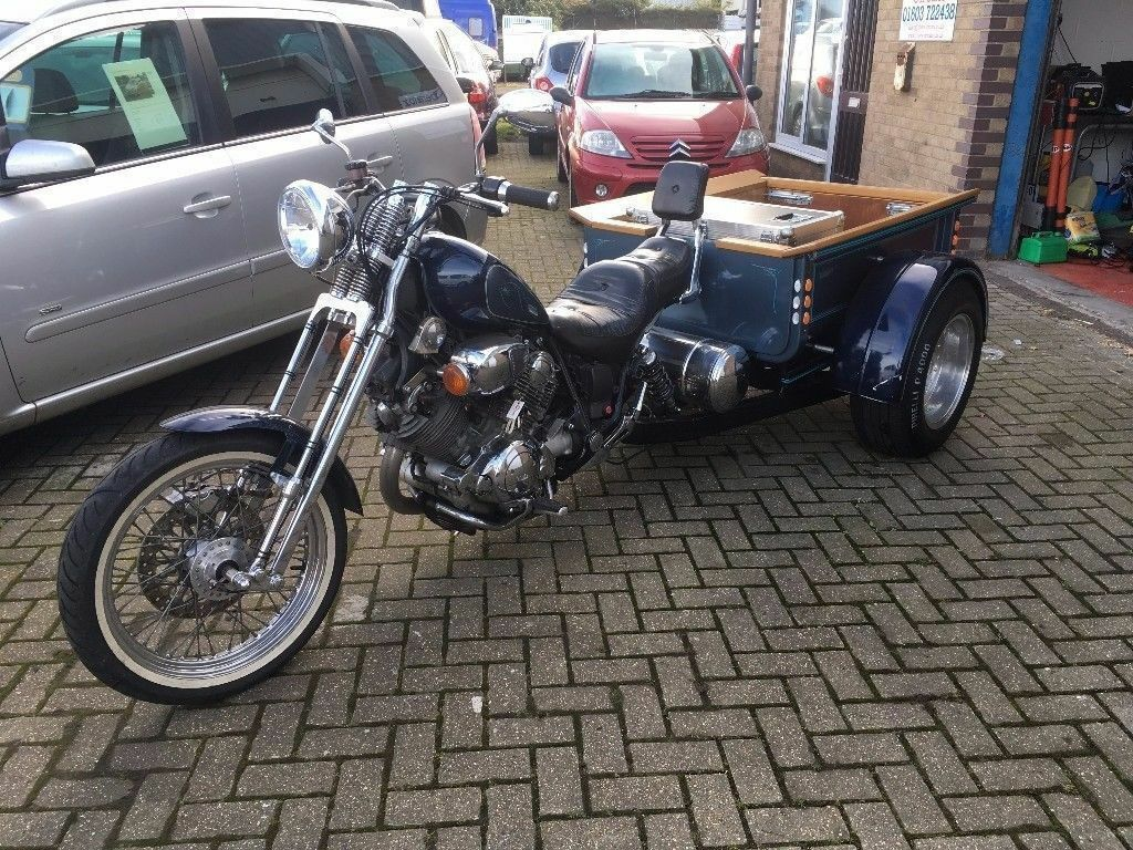 Custom Trike    Yamaha Virago 750    Built 3 Years ago by a Custom  Builder    Would consider a P/X | in Norwich, Norfolk | Gumtree