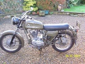 1976 Condor A350 (350cc)Swiss Army Motorcycle,