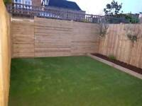 Turfing, Fencing, Slabs paving