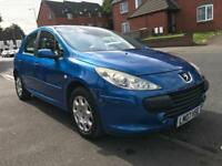 Peugeot 307 1.4 5dr - Mot&Tax - 2007 - Facelift - Drives good - not megane focus Renault fiat golf