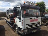 Iveco eurocargo hiab recovery truck