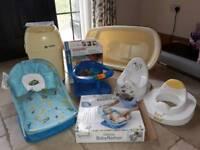 Baby bathing/ sanitary set