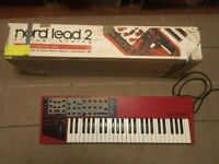 Nord Lead 2 + Expansion Sounds PCMCIA Card