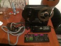 Fostex R8 Reel to Reel Tape Recorder 8 Track with MIDI Interface MTC-1 and Loom Cabling