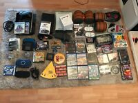 Video games job lot nintendo, sega, sony, ps1, ps2, gamecube, wii, 3ds, 2ds, ps3