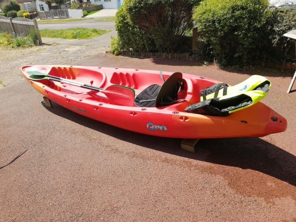 Perception Gemini Double Sit on Kayak | in Lancing, West Sussex | Gumtree