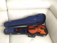 Full size4/4 old violin with case