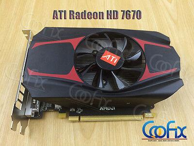 NEW ATI Radeon HD 7670 4GB DDR5 128Bit PCI-Express Video Graphics Card