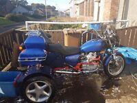 Honda cx 500 trike
