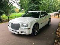 2010 10 CHRYSLER 300C 3.0 CRD LX 4D AUTO 215 BHP DIESEL,WHITE!!!!!