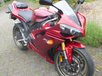 Immaculate very low mileage R1, rare colour, 1 owner from new
