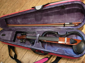 Yamaha Electric/silent violin SV120 -excellent for silent practice or amplified performance