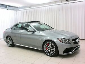 2016 Mercedes-Benz C-Class C63S AMG BiTURBO V8 SEDAN