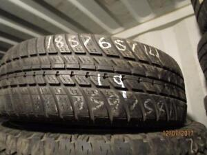 185/65R14 SINGLE ONLY USED MOTOMASTER  ALL SEASON TIRE
