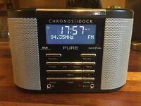 Pure Chronos DAB FM Radio/iPhone/iPod dock