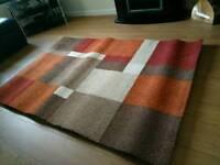 Rug Cushion's and curtains