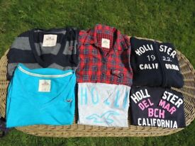Hollister women's shirts and top bundle sizes XS-S
