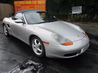 2000 PORSCHE BOXSTER 2.7 986 CONVERTIBLE FULL MOT 9/17 LOW 73K EXCELLENT HISTORY LEATHER PX SWAPS
