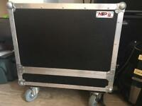 NSP amp flight case for guitar amps and cabs