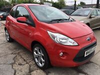 Ford KA 1.2 Zetec 3dr (start/stop)£4,985 . 1 YEAR FREE WARRANTY. NEW MOT