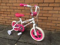 "Sparkle & Glitz Daisy 12"" Kids' Bike with Stabilisers"
