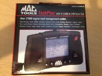 mac tools task plus car scan tool, obd 11/eobd and can