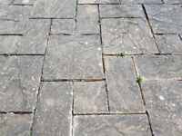Slabs for large patio, over 400, up to 100 sq metres