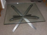 Glass-topped Coffee Table