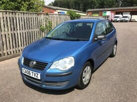 VW POLO 1.2, NEW MOT, FULL SERVICE HISTORY, JUST SERVICED