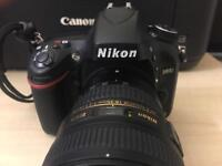 Nikon D610 body only, 21,000 shutter count