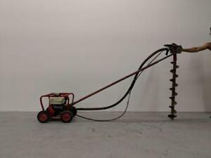 HOC LITTLE BEAVER EARTH AUGER + ONE FREE BIT + FREE SHIPPING + 30 DAY WARRANTY