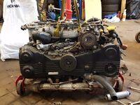 subaru ej208 twin turbo engine
