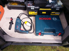 Bosch GBH2000 professional 110V hammer drill as new