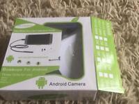 Borescope endoscopic camera for android phone