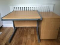 Desk & Drawers