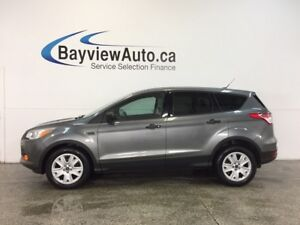2014 Ford ESCAPE S- 2.5L HITCH A/C CRUISE LOW KM'S!