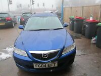 MAZDA 6 TS2 AUTO ESTATE BLUE 2.0 2004
