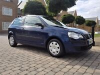 2008 VW POLO 1.2 E LOW MILES/NEW MOT/1 OWNER /HPI CLEAR