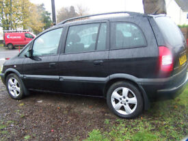 2004 04 ZAFIRA 7 SEATER IMMACULATE INSIDE AND OUT NEW MOT ONLY £995