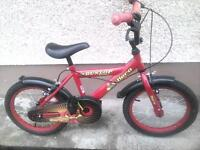 Boys Bicycle as new condition very little use, stored 2 years VGC brakes n tyres